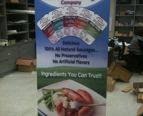 retractable pull up banner